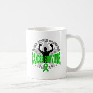 Bile Duct Cancer Tough World Champion Survivor Coffee Mugs