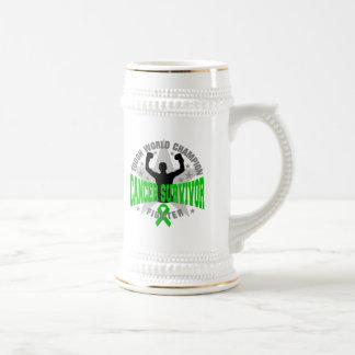 Bile Duct Cancer Tough World Champion Survivor Coffee Mug