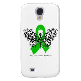 Bile Duct Cancer Tribal Butterfly Ribbon Galaxy S4 Covers