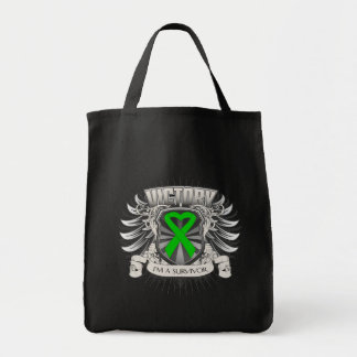 Bile Duct Cancer Victory Tote Bag