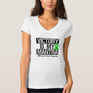 Bile Duct Cancer Victory is My Mantra T Shirts
