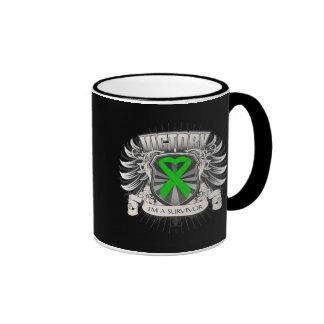 Bile Duct Cancer Victory Ringer Coffee Mug