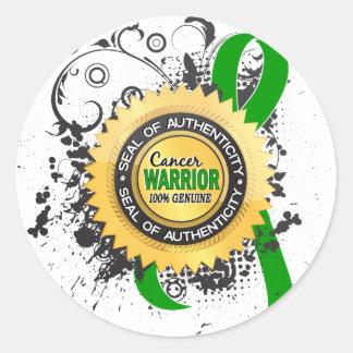 Bile Duct Cancer Warrior 23 Stickers