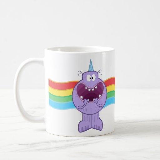 Biles© Barf Rainbow Classic White Coffee Mug