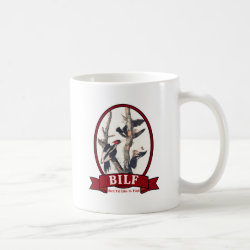 Classic White Mug with BILF design