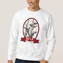 Men's Basic Sweatshirt with BILF design