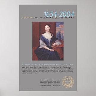 Bilhah Abigail Franks (1696-1756) Poster