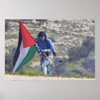 Bil'in Avatar Protest Poster
