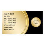 Bilingual Notary Business Cards