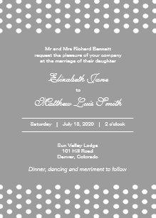 2 sided invitations zazzle