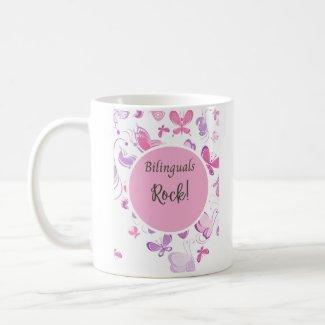 Bilinguals rock coffee mug