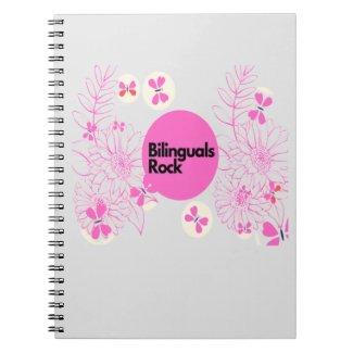 Bilinguals rock notebook
