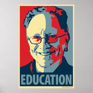 Bill Ayers - educación: Poster de OHP