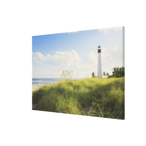 Bill Baggs Cape Florida Lighthouse, Bill Baggs Stretched Canvas Prints
