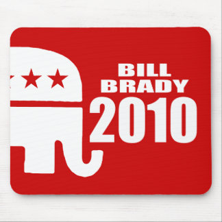 BILL BRADY FOR GOVERNOR MOUSE PAD