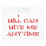 Bill can bite me ANYTIME Custom Invitations