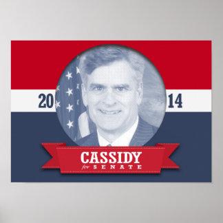 BILL CASSIDY CAMPAIGN PRINT