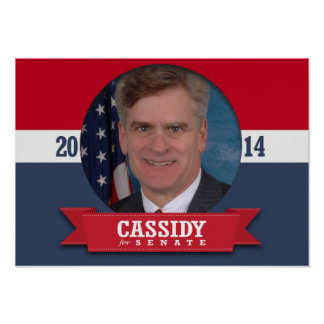BILL CASSIDY CAMPAIGN POSTERS