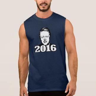 Bill Clinton 2016 Candidate Sleeveless Shirts
