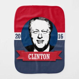 BILL CLINTON 2016 PAÑOS DE BEBÉ