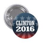 BILL CLINTON 2016 PIN