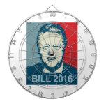 BILL CLINTON 2016 -.png Dart Board