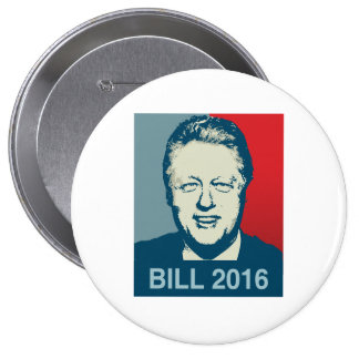 BILL CLINTON 2016 - .PNG PINS