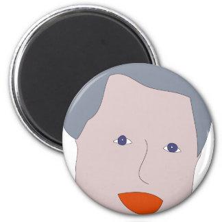 Bill Clinton 2 Inch Round Magnet