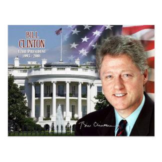 Bill Clinton - 42.o presidente de los E.E.U.U. Postales