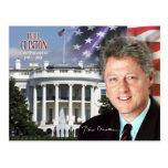 Bill Clinton - 42.o presidente de los E.E.U.U. Tarjeta Postal