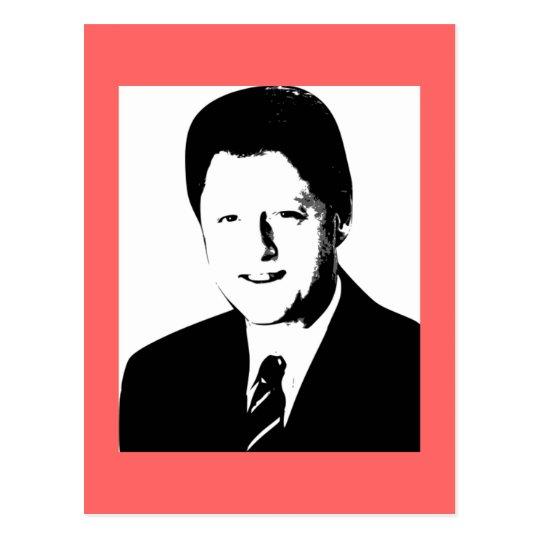 Bill Clinton, 42nd President of the U.S. Postcard