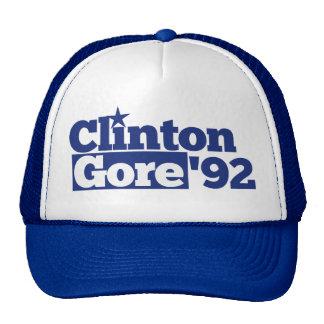 Bill Clinton Al Gore 1992 políticas retras Gorras De Camionero