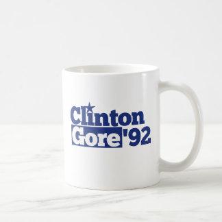 Bill Clinton Al Gore 1992 retro politics Coffee Mug