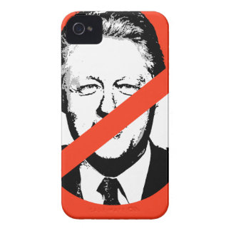 BILL CLINTON ANTI iPhone 4 Case-Mate FUNDAS