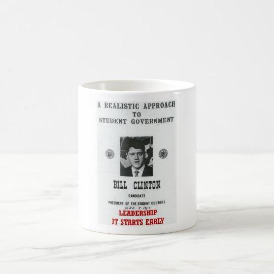 Bill Clinton at Georgetown LEADERSHIP Coffee Mug