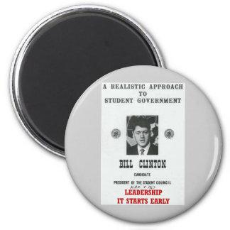 Bill Clinton at Georgetown LEADERSHIP Fridge Magnets