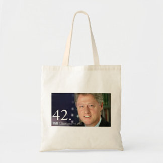 Bill Clinton Canvas Bags