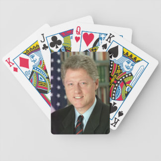 Bill Clinton Bicycle Playing Cards