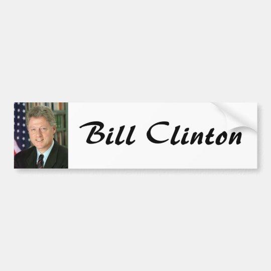 Bill Clinton Bumper Sticker