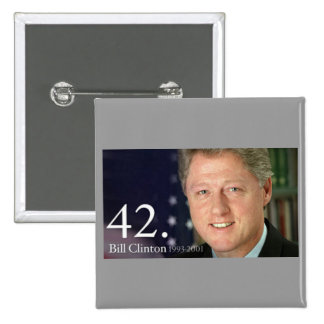 Bill Clinton Button