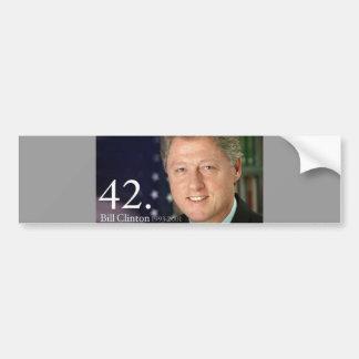 Bill Clinton Car Bumper Sticker