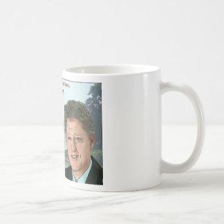Bill Clinton Cartoon Coffee Mug