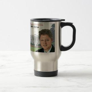 Bill Clinton Cartoon Travel Mug
