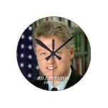 Bill Clinton clock