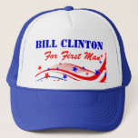 Bill Clinton For First Man Hat