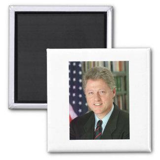 Bill Clinton Imán Cuadrado