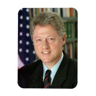 Bill Clinton Imán Rectangular