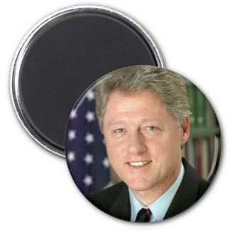 Bill Clinton Imán Redondo 5 Cm