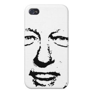 BILL CLINTON INK ART iPhone 4/4S CASE