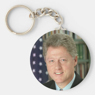 Bill Clinton Keychain